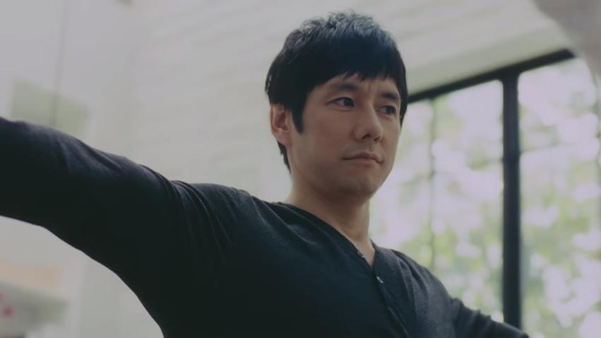 西島秀俊さんがヨガにチャレンジ!