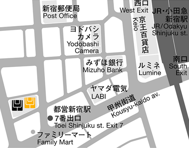 新宿WESTスタジオ/yoggy institute main school