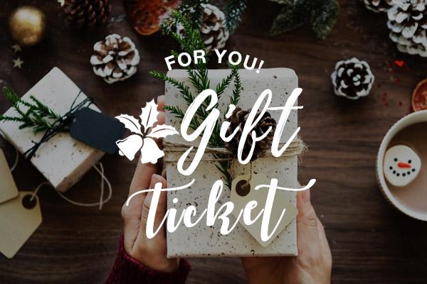 たいせつなあの人へ。ヨギーのチケットをプレゼントしよう!